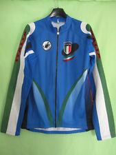 Maillot cycliste ITALIE vintage Italia Castelli Manche Longue jersey - L