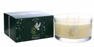 Wax Lyrical UNDER THE MISTLETOE multi wick Christmas fragranced candle floral
