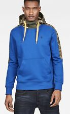 G Star Meson Core Hooded Sweater. Hudson Blue.Mens size Medium. NEW IN FACT BAG