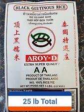 5 X Thai Best Black Sweet Rice 5 (LB)= Total 25 lb !!!!!  (Free Shipping !!!!!!)