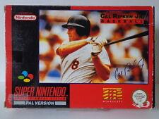 SNES Spiel - Cal Ripken Jr. Baseball (mit OVP) (PAL) 10637081