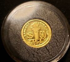 2008 1/20 oz 999 Gold NORFED L iberty Dollar