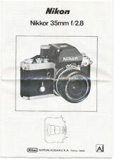 Obiettivi Nikon NIKKOR per fotografia e video 35mm