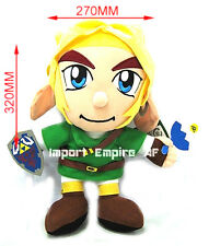 THE LEGEND OF ZELDA LINK PELUCHE GRANDE pupazzo plush Skyward Sword doll wii 3ds