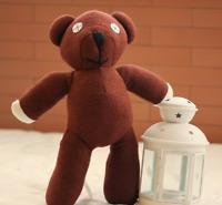 Mr Bean Teddy Bear Animal Stuffed Plush Toy Soft Cartoon Brown Figure