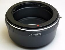 Contax/Yashica C/Y-NEX Lens to Sony E Camera mount Adapter Ring Alpha 5T 5R N 7R