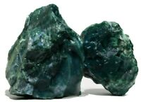Raw Rough stone - Moss Agate Unpolished Crystal for Healing Reiki & Meditation