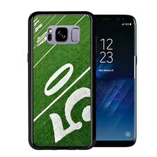 50 yard Line Football On Field For Samsung Galaxy S8 2017 Case Cover by Atomic M