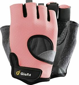 Womens Workout Gloves Knuckle Weight Lifting Shorty Fingerless Gloves Quality