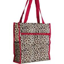 Leopard Womens Small Tote Bag Handbag Purse for Travel Work School Shopping
