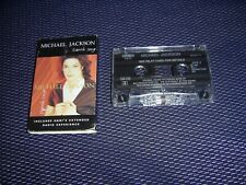 MICHAEL JACKSON Earth Song EPIC 1995 CASSETTE SINGLE VG/EX