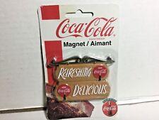 """Coca-Cola Magnet """"Refreshing/Delicious"""""""