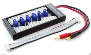 New Common Sense Paraboard Parallel Charging Board for Lipos w/ EC3 Connectors