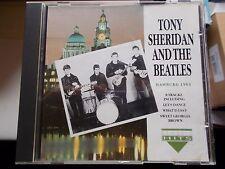 TONY SHERIDAN AND THE BEATLES - HAMBURG 1961 - 1992 CHARLY/CLASSIC HITS CD