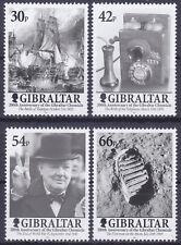 Gibraltar 2001 Bicentenary of Gibraltar Chronicle Set UM SG978-81 Cat £7.75