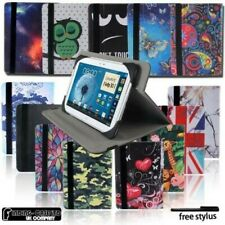 Funda Piel Soporte Giratorio Para Samsung Galaxy Tab A / Dell / J/S Tableta