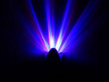 10 x Colorful Rainbow Rays Wall Plug LED Night Light Energy Saving Lamp
