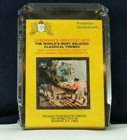 Gershwin's Greatest Hits World's Most Beloved Classical Themes 8-Track Tape NEW