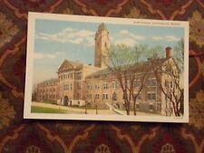 Vintage Postcard Staff College, Leavenworth, Kansas