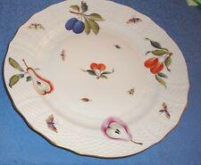 """Herend 11"""" Service/Dinner Plate #1527/FR Vintage 1930's                    14B"""