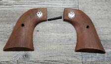 Ruger Factory Single Six Blackhawk Vaquero Wood Grips