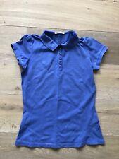 Boss Blue Ladies Womens Purple Polo Neck T-shirt