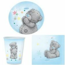 Me To You Tableware Set for 60 People - Teddy Party Pack - Birthday Baby Shower