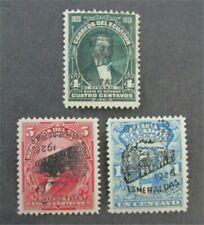 nystamps Ecuador Stamp # 260//264 Mint OG H $43