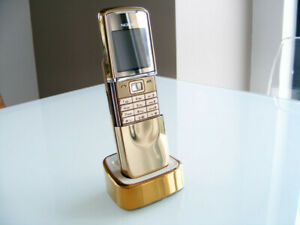 Nokia 8800 Sirocco Gold Luxury Edition (18k Gold, data protection)