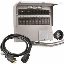Reliance Controls Pro/Tran 2 - 30-Amp (10-Circuit) Power Transfer Switch Kit ...