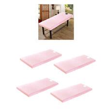 4er set Bettlaken Betttuch Haustuch Haushaltstuch Tischdecke für
