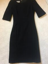 Hobbs Black Dress.Size 8. Fitted. Lined. Excellent Condition.