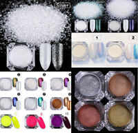 Nail Art Glitter Powder Dust UV GEL Shining Pigment Manicure Decoration Tips