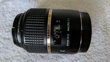 Mint - Tamron SP G005 60mm f/2 Di-II LD AF IF Lens For Canon