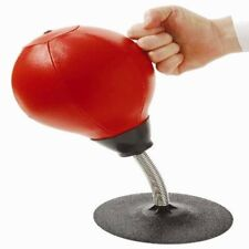 Mn245 Leather Stress Buster Desktop Punching Ball Heavy Duty Suction
