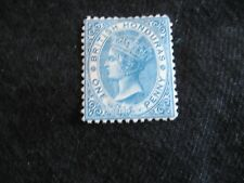 British Honduras: 1872-79 Wmk Crown CC, 1d Pale blue Perf 12.5 unused