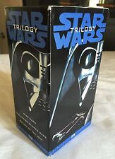 Vintage Star Wars Trilogy 3 VHS Tapes Boxed Set THX Digitally Mastered