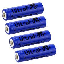 4pcs UltraFire TR 14500 3.7V 1200mAH Lithium Li-ion Rechargeable Battery