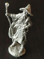 "1987 Rawcliffe Pewter Wizard, 3.75"" tall!"