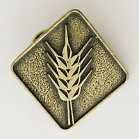 Ear Of Wheat Pin Badge Cereal Crop Rare Vintage (L48)