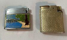 Vintage Vulcan Cal Neva Lake Tahoe Reno Nevada Casino Lighter Cigarette + Ronson