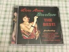 LOU ANN BARTON - THE BEST! * USED - VERY GOOD CD