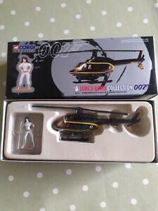 Corgi Classics James Bond Collection, Stromberg Helicopter & Naomi Figure