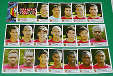 PANINI FOOTBALL FOOT 2007 LE MANS 72 LEON-BOLLEE COMPLET FRANCE 2006-2007