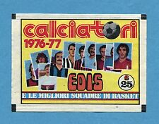 Bustina/Packet - figurine - CALCIATORI 1976-77 Edis - Vuota-Empty