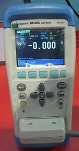 Handheld LCR Meter 10KHz L C R Q D Z θ ESR Tester TFT LCD Touch Screen USB AT825