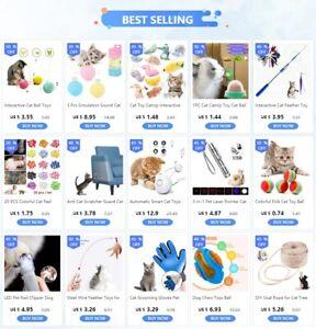 Cat Toy Catnip Interactive Plush Stuffed Chew Pet Toys Claw Funny Cat Mint Soft