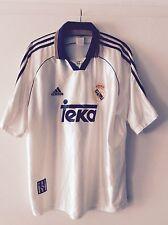 Real Madrid Raul Trikot Adidas Teka Gr  L Camiseta Jersey