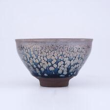 Multicolour China JIANYANG handmade oil spot glaze tenmoku tea cup JianZhan
