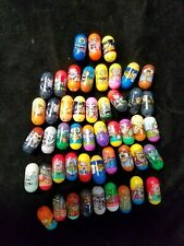 Assorted Lot of 49 Mighty Beanz Marvel Various Others